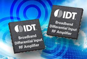 IDT全新宽带差分输入RF放大器F1423可大幅度简化基站发射器设计