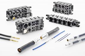 TE推出模块化、高功率插头和插座互连解决方案