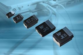 Vishay为其高性能表面贴装聚合物钽式电容器T55系列增添外形尺寸与电压等级