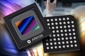 安森美推出采用先进全局快门技术的120万像素CMOS图像传感器AR0135