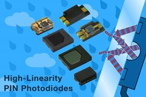 Vishay全新汽车级PIN光电二极管光响应线性度出色,可用于小信号探测