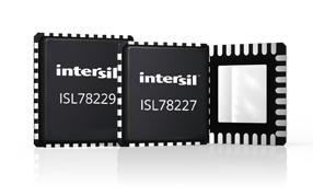Intersil全新多相55V同步升压控制器简化汽车电源系统设计