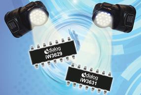 Dialog推出两款驱动控制器,适用于高功率商用LED照明应用