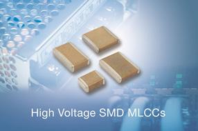 Vishay全新高可靠性高压SMD MLCC适用于工业和通信应用