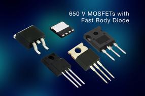 Vishay扩大MOSFET产品组合,推出全新650V EF系列器件