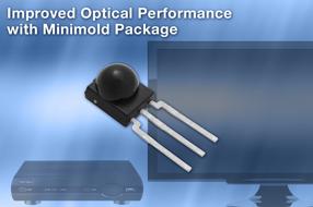 Vishay全新微型红外接收器具备更优光性能和射频噪声抑制能力