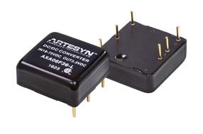 雅特生科技推出全新加固型高密度25W直流电源转换器AXA 25W系列