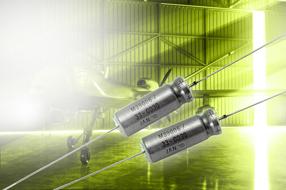 Vishay扩展液钽电容器M39006/33的电容范围...