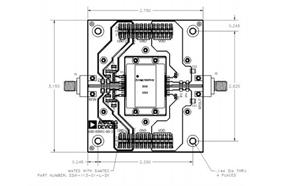ADI全新宽带6 GHz模块进一步扩展GaN功率放大器产品组合