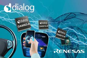 Dialog公司为瑞萨电子的汽车SoC提供首选电...