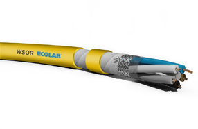Molex工业耐焊渣和耐油电缆提供Ecolab兼容...