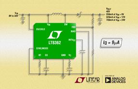 ADI旗下凌力尔特推出2MHz升压型DC/DC转换器LT8362