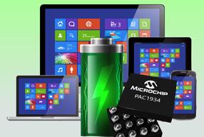 Microchip新款功耗监控IC将Windows 10设备软件功耗测量精度提高到99%
