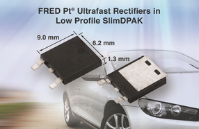 Vishay推出新款FRED Pt Ultrafast整流器