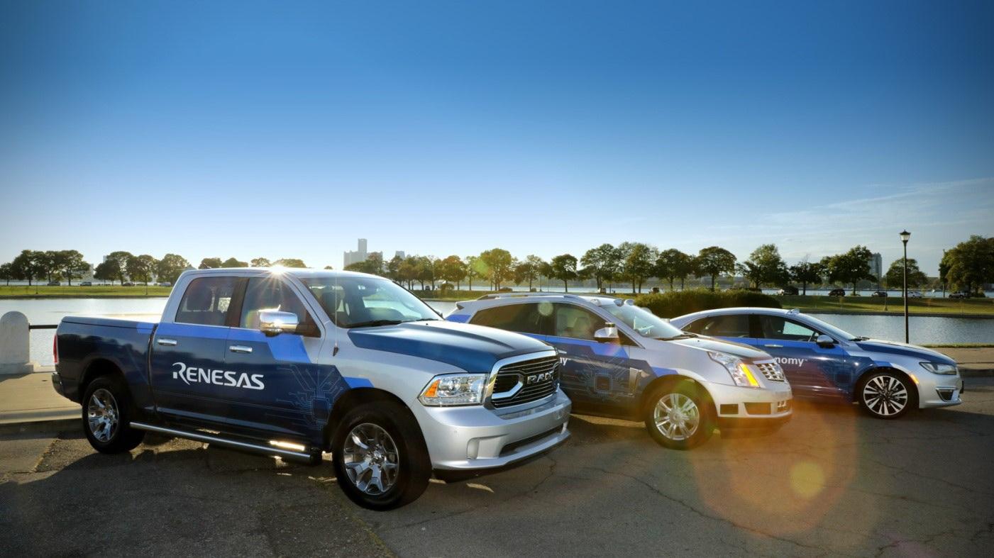 瑞萨电子推出了新一代先进驾驶辅助系统(ADAS)、自动驾驶以及网联驾驶舱展示车