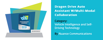 Nuance新推人工智能Dragon Drive功能