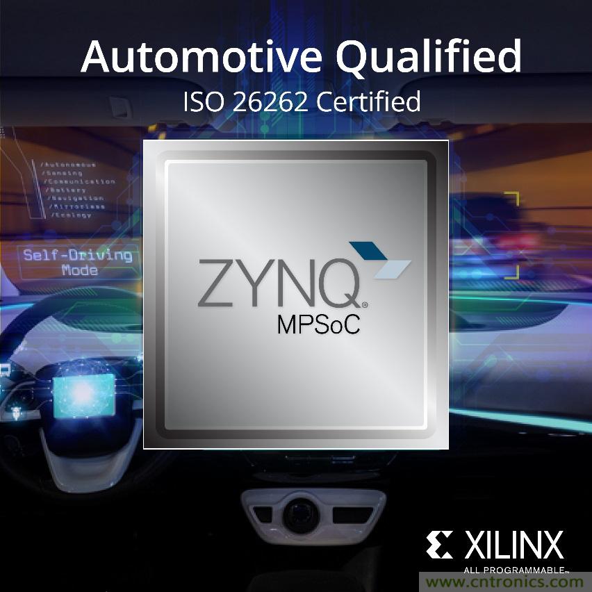 Xilinx推出威尼斯人娱乐网址级Zynq UltraScale+ MPSoC系器件