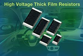 Vishay推出可为系统节省空间并减少元器件用量的中压厚膜片式电阻