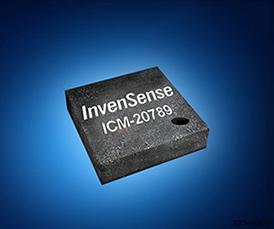 贸泽备货业界首款7轴运动和压力传感器 InvenSense ICM-20789
