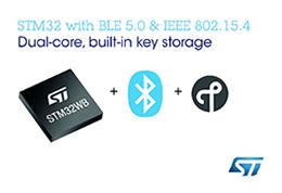 ST推出高性能多协议Bluetooth® 和 802.15.4系统芯片