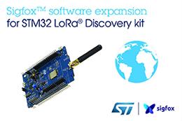 意法半导体推出Sigfox STM32微控制器