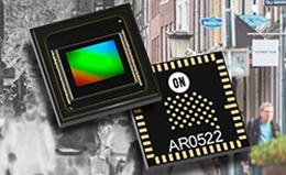 安森美半导体推出首批具有近红外+的高分辨率图像传感器,以提升夜视功能