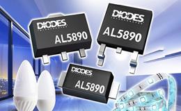 Diodes 推出 400V 线性稳压器,能以小型封装提供稳定的 LED 电流