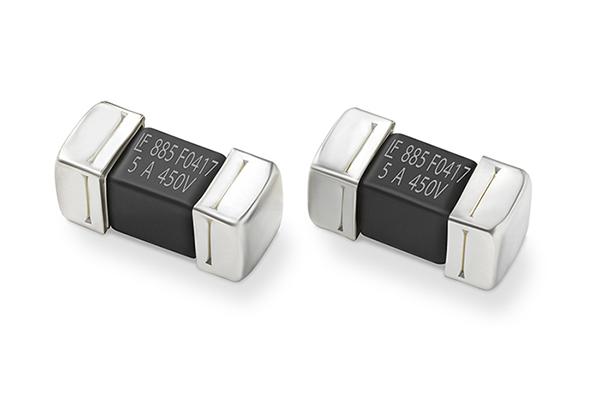 Littelfuse专为电动汽车应用优化500VDC SMD保险丝