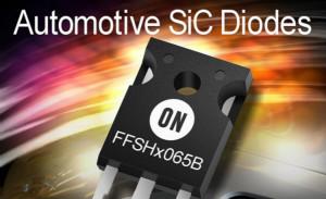 安森美半导体发布碳化硅二极管用于要求严苛的汽车应用
