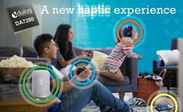 Dialog推出超低功耗且紧凑的触觉控制驱动IC,进入迅速增长的触控市场