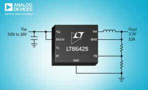 ADI推出 Power by Linear LT8642S同步降压型开关稳压器