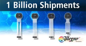 Allegro 齿轮齿传感器IC迎来新里程碑,助力提高汽车整体性能