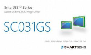 SmartSens推出30万像素BSI全局快门CMOS图像传感器SC031GS