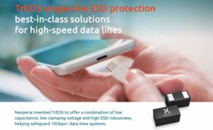 Nexperia 推出全新用于 C 型 USB 的ESD 保护系列