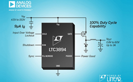 ADI推出 Power by Linear LTC3894 DC/DC 控制器