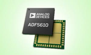 ADI推出一款集成压控振荡器的宽带频率合成器