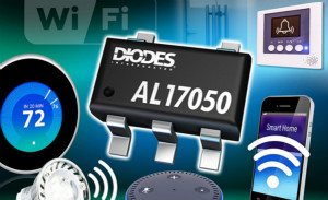 Diodes Incorporated 推出 IoT 应用专属的脱机降压转换器