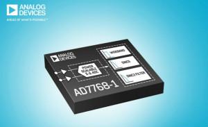 ADI推出低功耗、高性能的24位单通道Σ-∆ ADC AD7768-1