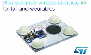 ST发布即插即用的无线充电套件,为可穿戴设备和物联网设备带来超小体积充电器