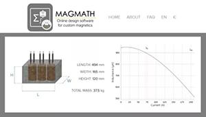 用于太阳能和UPS逆变滤波器的MAGMENT三相电感