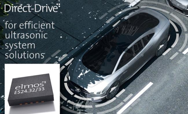"""elmos推出高性能""""直接驱动""""超声波IC,用于汽车泊车辅助系统"""