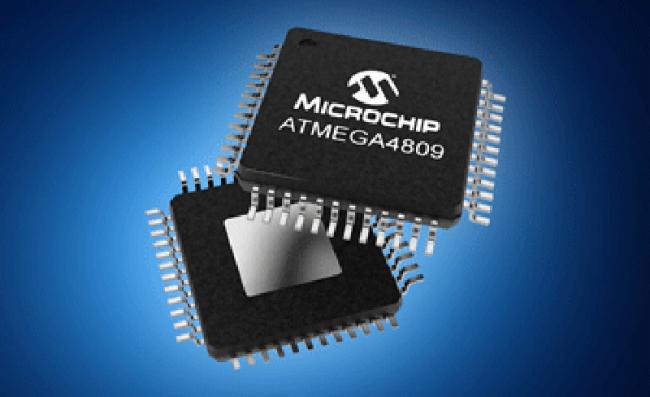 贸泽开售了Microchip ATmega4809 8位MCU