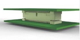 TE Connectivity推出自由高度连接器,适用于堆叠印刷电路板