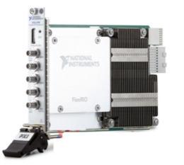 NI推出基于FPGA的PXIe-5785 FlexRIO 收发器