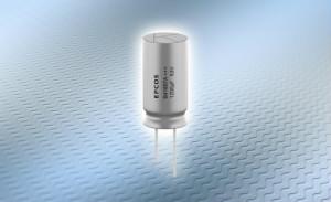 铝电解电容器: 大电流能力的紧凑型单端引线式电容器系列
