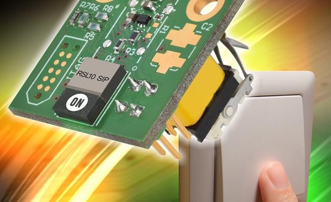 安森美半导体基于超低功耗的RSL10 SIP提供能量采集蓝牙低功耗开关