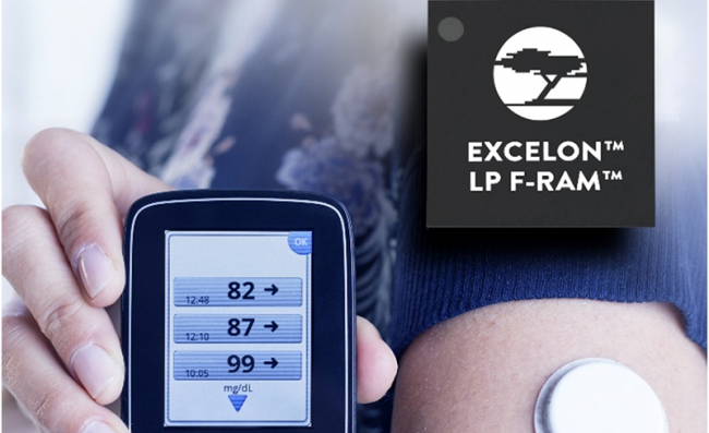 赛普拉斯推出用于便携式医疗、可穿戴与物联网设备的超低功耗数据记录解决方案