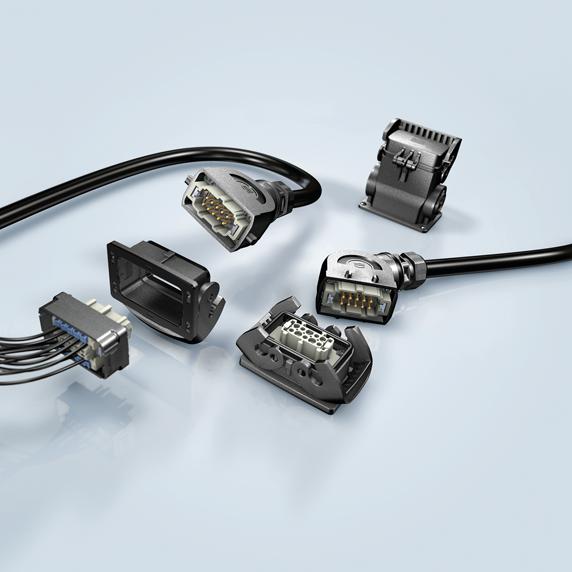 浩亭高性能塑料外壳连接器全面符合行业标准Han B