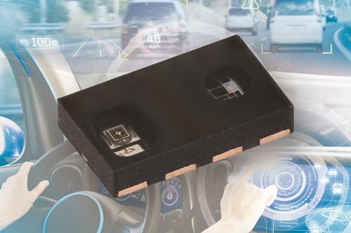 Vishay推出最新款汽车级接近和环境光传感器---VCNL4030X01