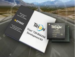 Efinix成功推出Trion T20 FPGA样品,同时将产品扩展到二十万逻辑单元的T200 FPGA